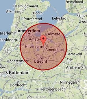 werkgebied Hilversum